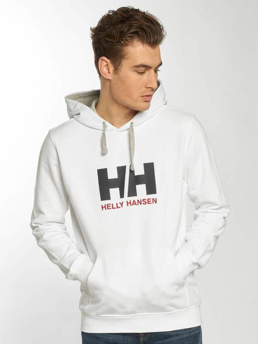 Helly Hansen Bluzy z kapturem Logo bialy