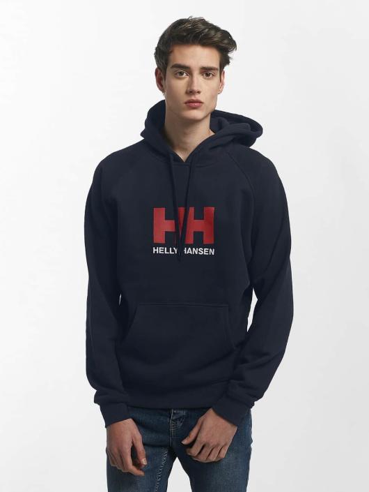 Helly Hansen Bluzy z kapturem Logo niebieski