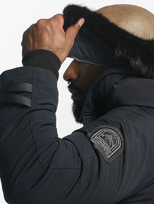 Helvetica Зимняя куртка Expedition Black Edition синий