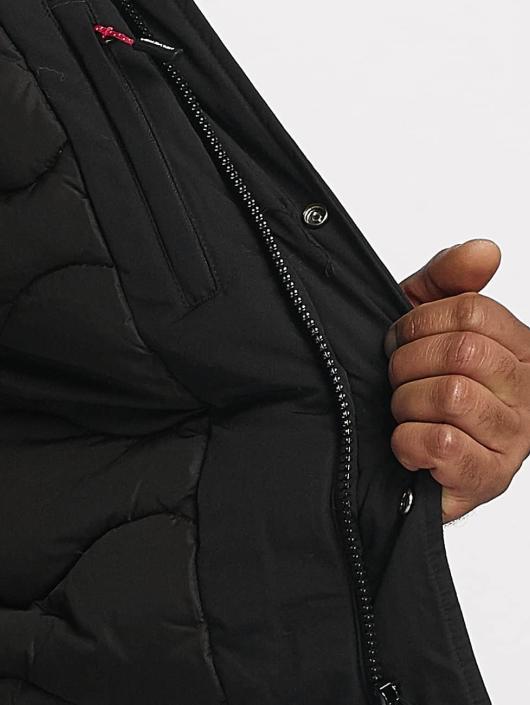 Helvetica Chaqueta de invierno Anchorage Pure Edition negro