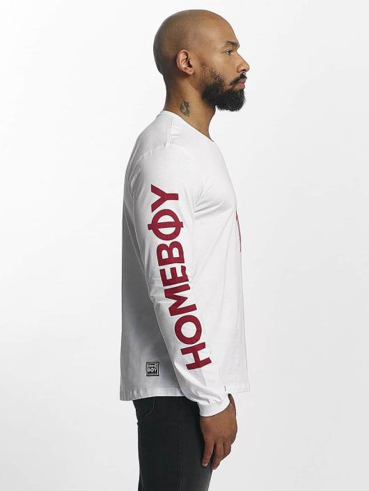 Homeboy Camiseta de manga larga Long Home blanco