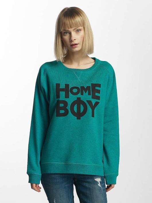 Homeboy Swetry Berlin turkusowy