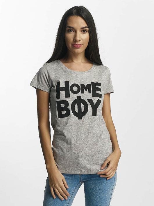 Homeboy T-paidat Paris harmaa