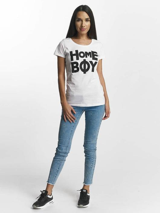 Homeboy T-Shirt Paris blanc