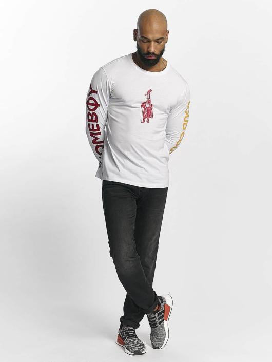 Homeboy T-Shirt manches longues Long Home blanc