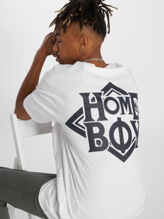 Homeboy T-Shirt The Bigger Homie Nappo weiß