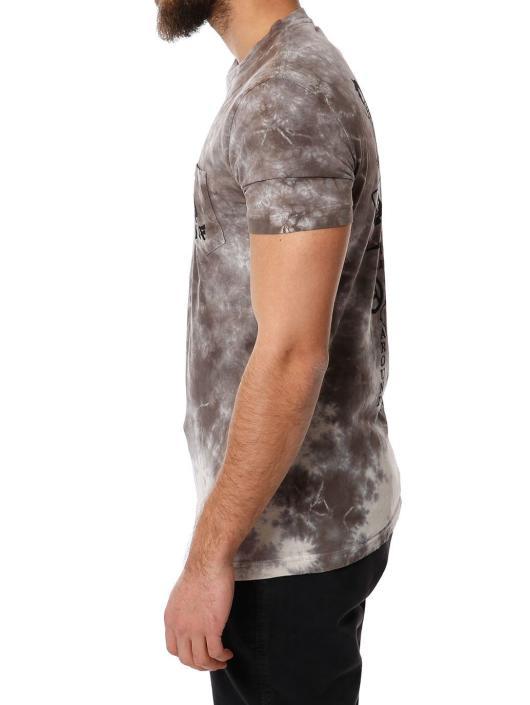 HUF Camiseta Spades Pocket gris