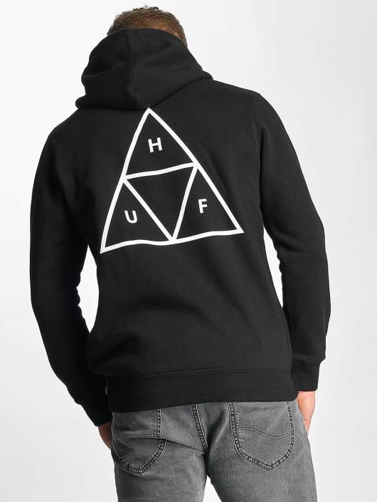 HUF Hoodie Triple Triangle black