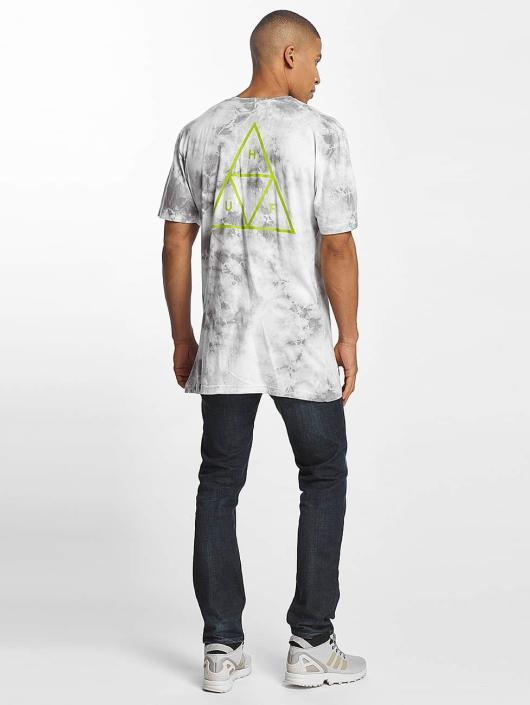 HUF T-paidat Washed Triple Triangle harmaa