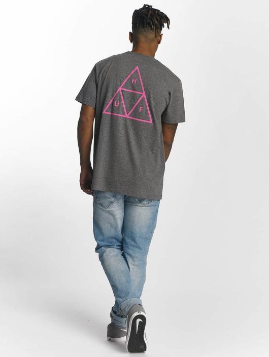 HUF T-paidat Triple Triangle harmaa