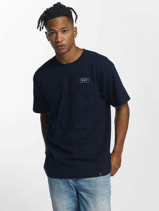 HUF T-paidat Gradient Bar Logo sininen