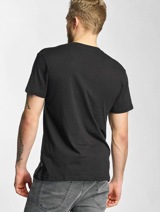 HUF T-Shirt Overdye Bar Logo black