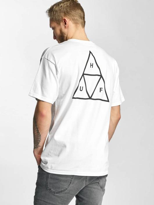 HUF T-Shirt Triple Triangle white