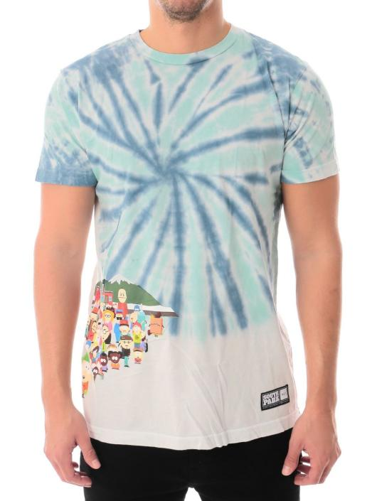 HUF T-Shirty Southpark Opening niebieski