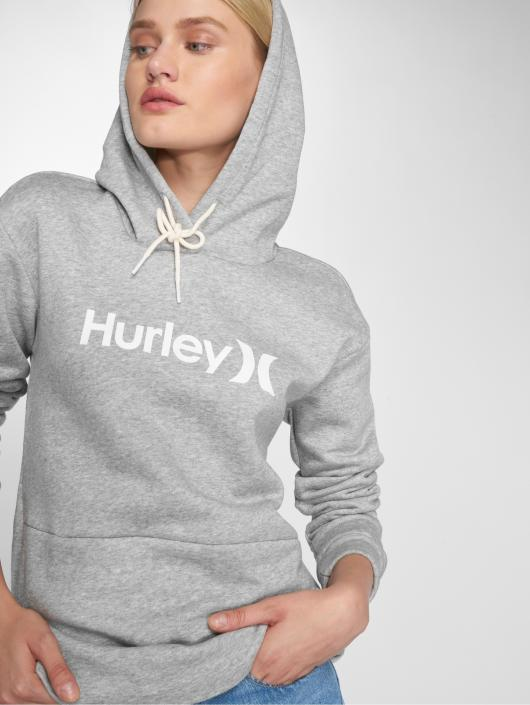 Hurley Hoody One & Only Fleece grau