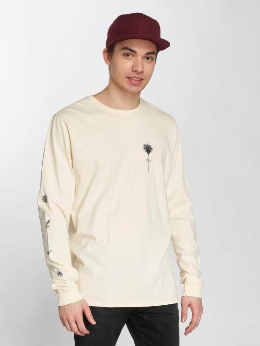 Hurley T-Shirt manches longues Hvy Shred beige
