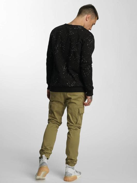 HYPE Pullover Aop Speckle black