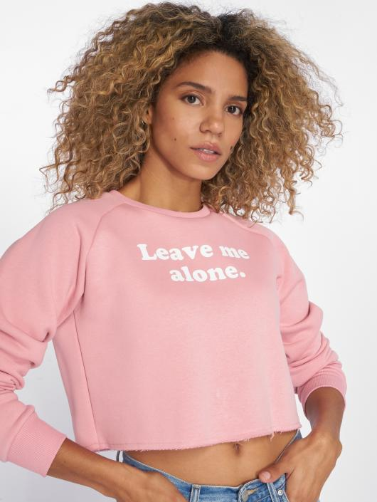 HYPE Pullover Leave Me pink