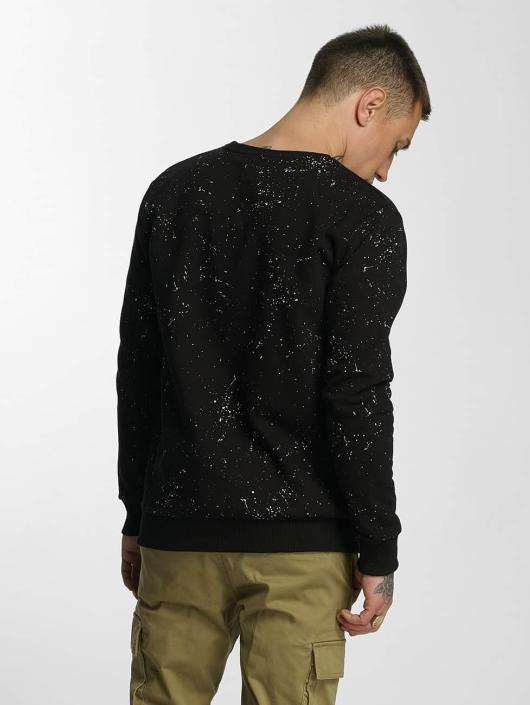 HYPE Pullover Aop Speckle schwarz