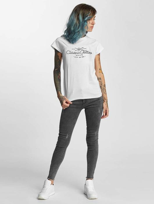 I Love Tattoo T-Shirt City Of Ink blanc