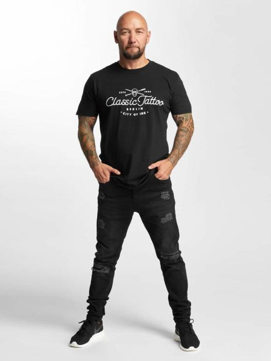I Love Tattoo T-skjorter City Of Ink svart