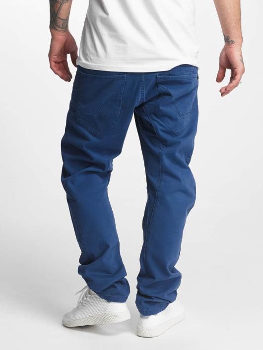 ID Denim Løstsittende bukser Fargo blå