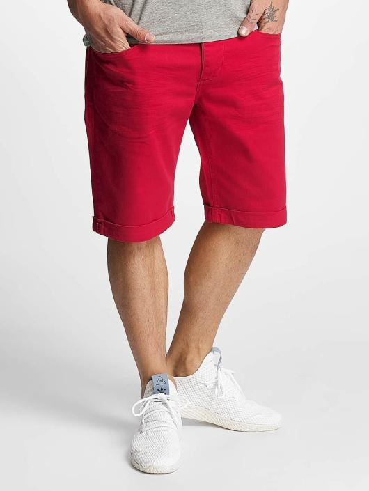 ID Denim shorts Twill rood