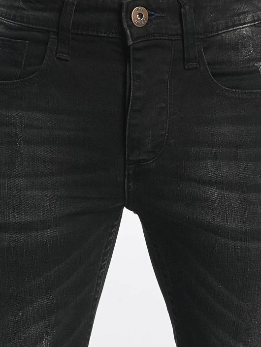 ID Denim Slim Fit -farkut Kula musta