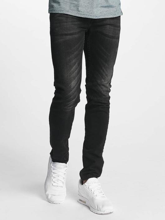 ID Denim Slim Fit Jeans Kula zwart