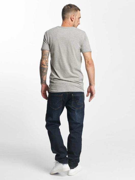 ID Denim Straight fit jeans Basic blauw
