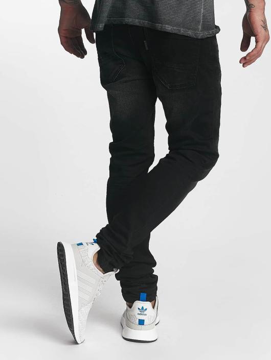 ID Denim Straight Fit Jeans Ville svart