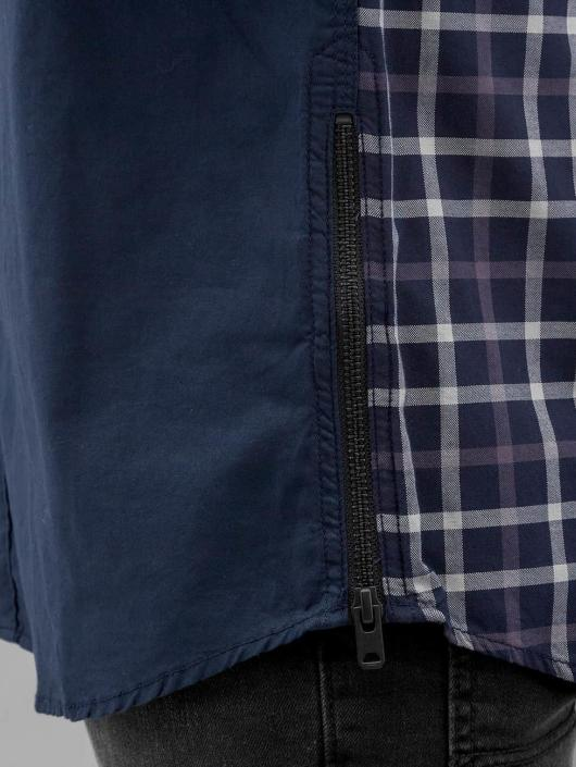 Jack & Jones Рубашка Victor Plain синий