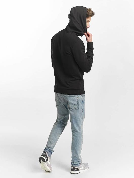 Jack & Jones Bluzy z kapturem jorSlack czarny
