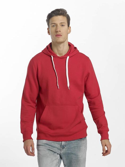 Jack & Jones Bluzy z kapturem jorWinner czerwony