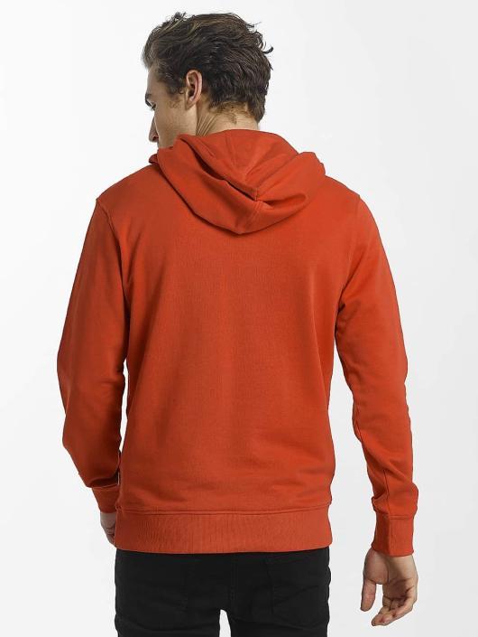 Jack & Jones Bluzy z kapturem jcoPhone czerwony