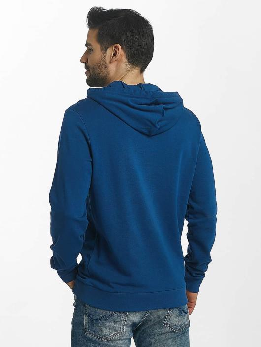 Jack & Jones Bluzy z kapturem jorSlack niebieski