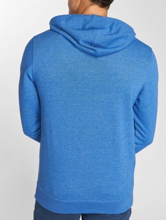 Jack & Jones Bluzy z kapturem jcoLinn niebieski