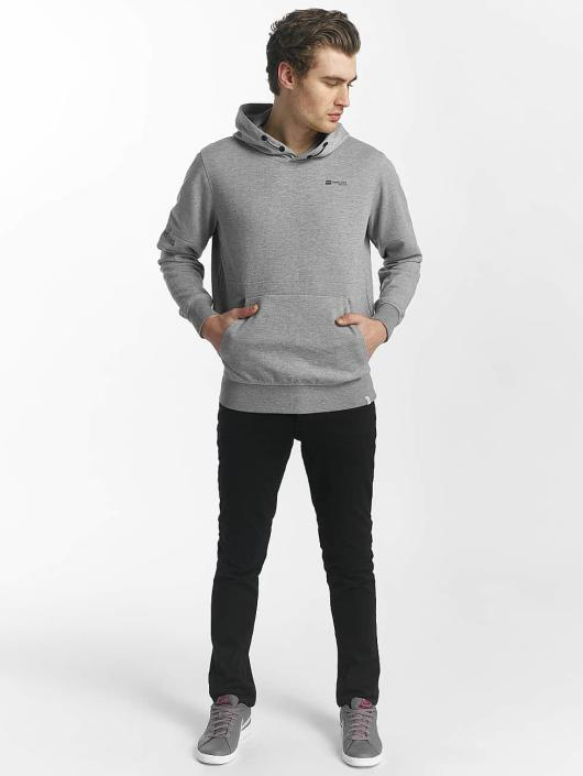 Jack & Jones Bluzy z kapturem jcoMack szary