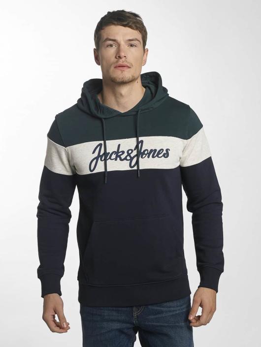 Jack & Jones Bluzy z kapturem jorGold zielony