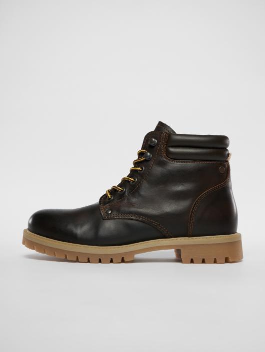 db0b5ce68f31ef Jack   Jones Herren Boots fwStoke Leather in braun 532516