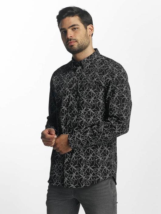 Jack & Jones Camisa jprGeo negro