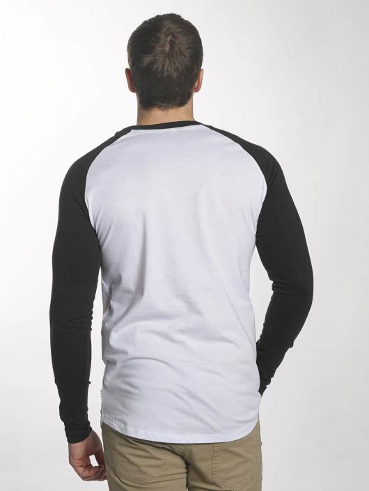Jack & Jones Camiseta de manga larga jcoBuddy blanco