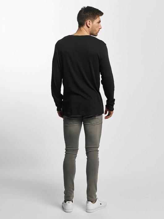 Jack & Jones Camiseta de manga larga JORLoose gris