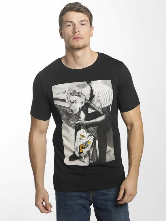 Jack & Jones Camiseta jorHearty negro