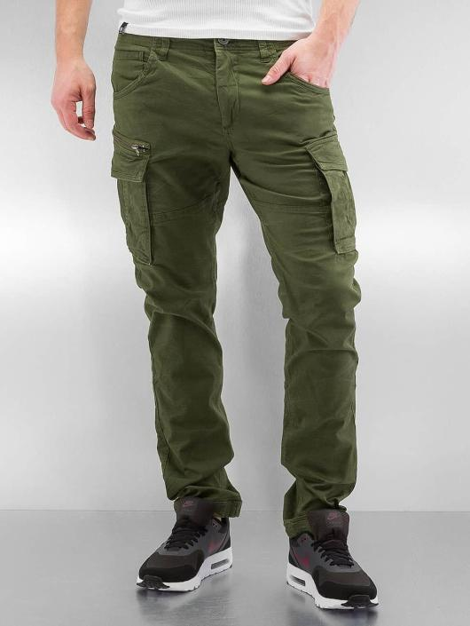 Jack & Jones Cargo pants jjiPaul jjChop oliv