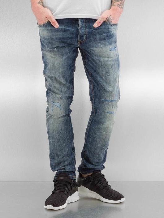 Jack & Jones dżinsy przylegające jjiGlenn Slim Fit niebieski