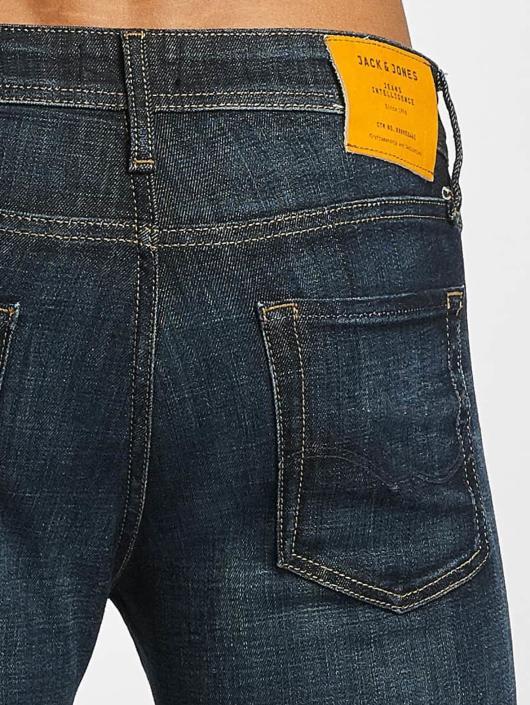 Jack & Jones dżinsy przylegające jjGlenn Original JJ 022 niebieski