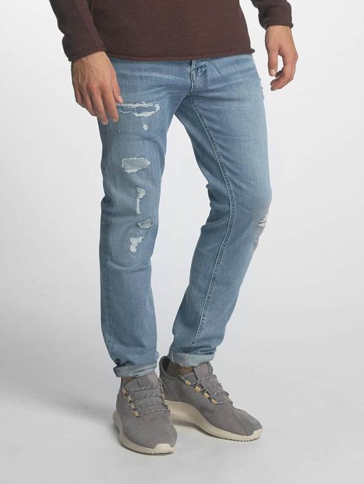 Jack & Jones dżinsy przylegające jjItim jjOriginal niebieski