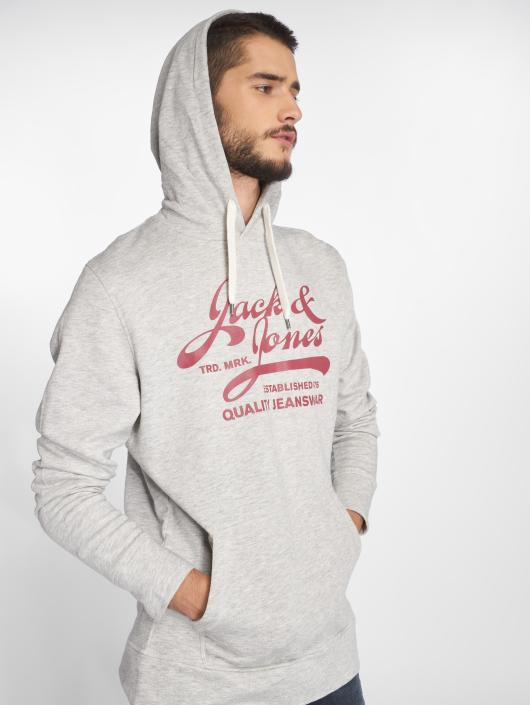 Jack & Jones Hoodie jjePanther gray