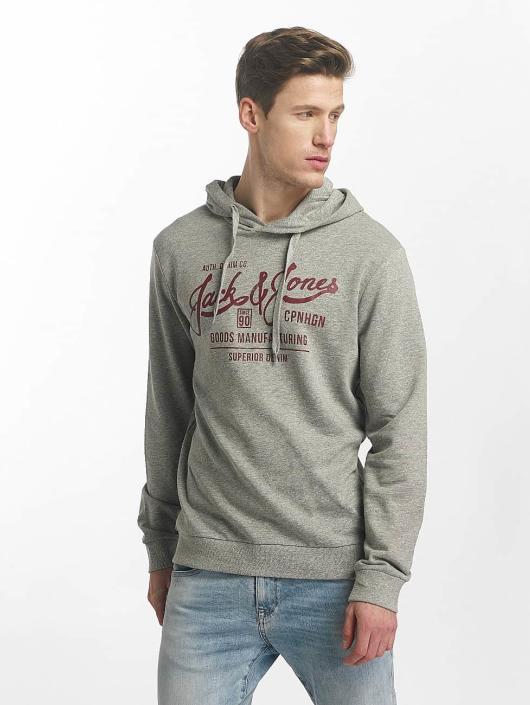 Jack & Jones Hoodie jorSlack grey